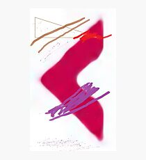 Red Arrow Photographic Print