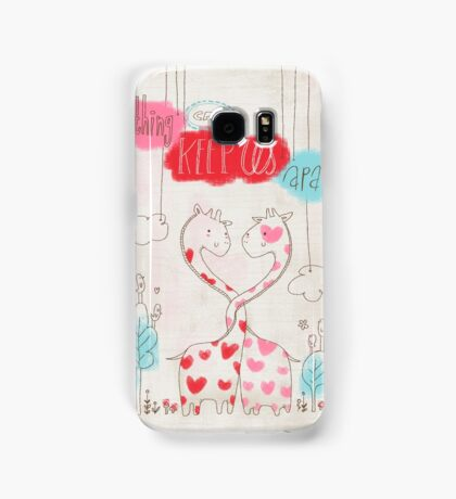 Nothing Can Keep Us Apart Samsung Galaxy Case/Skin