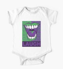 LAUGH purple One Piece - Short Sleeve