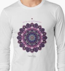 Mandala of Happiness Long Sleeve T-Shirt