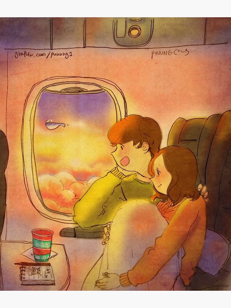 Airplane window by puuung1