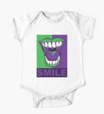 SMILE purple Kids Clothes