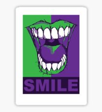 SMILE purple Sticker