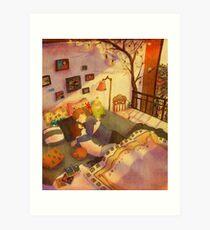 Let's sleep Art Print