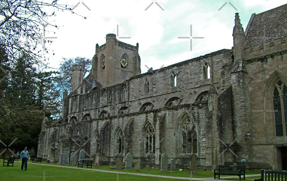 Dunkeld Cathedral by Tom Gomez