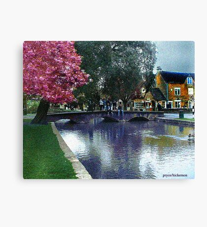 Bourton on the Water 2 Canvas Print