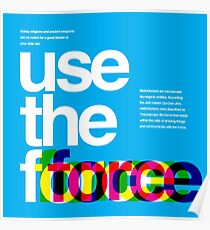 Star Wars: Use the Force Poster