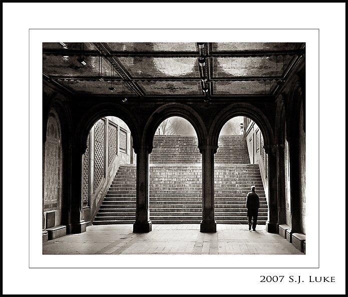 Bethesda Terrace, Central Park by sjluke