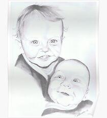 Luke and Peter Edwardes Poster