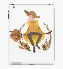 Sunflower Magician iPad Case/Skin