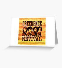 Creedence clearwater revival Greeting Card