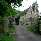 St. Hildas' church at Egton,  in the north yorks moors national park by dougie1