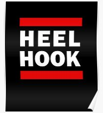 Heel Hook Brazilian Jiu Jitsu (BJJ) Poster