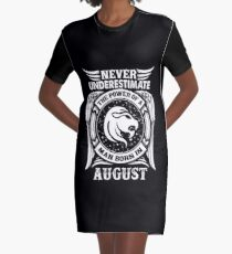 August Birthday Quotes Dresses   Redbubble