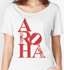 Aroha (love for the people) Women's Relaxed Fit T-Shirt