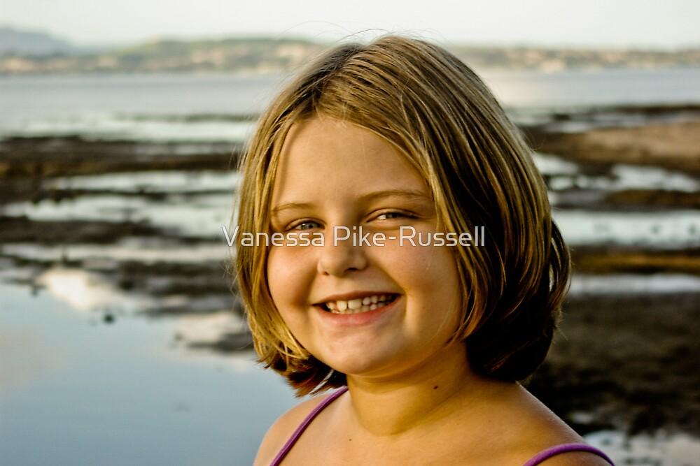 Portrait: Shana on Lake Illawarra by Vanessa Pike-Russell