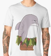 Funny Shark Head Maui Men's Premium T-Shirt