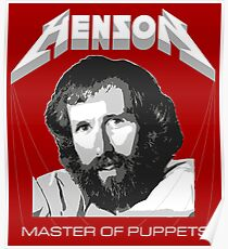 Henson - Master of Puppets Poster