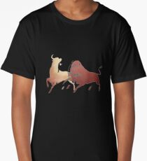 Two Fighting Bulls Long T-Shirt