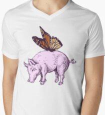 Butterpig Men's V-Neck T-Shirt