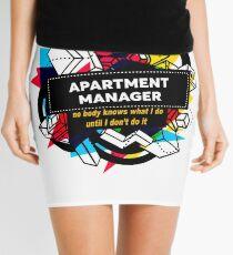 APARTMENT MANAGER Mini Skirt