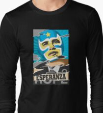 Esperanza (Hope) Lucha libre Long Sleeve T-Shirt