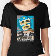 Esperanza (Hope) Lucha libre Women's Relaxed Fit T-Shirt