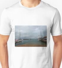 Yarmouth Harbour from the Slipway Unisex T-Shirt