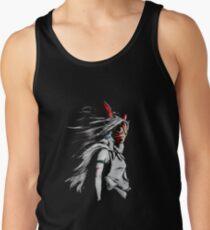 Camiseta de tirantes La furia de San Mononoke Hime Retrato épico