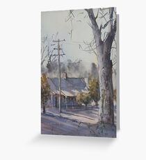 Winter's Day at Maldon Greeting Card