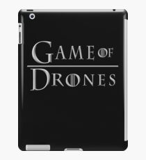 Funny Drone Shirt - 'Game of Drones' t-shirt for UAV fans iPad Case/Skin