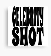 Celebrity Shot   OG Collection Canvas Print
