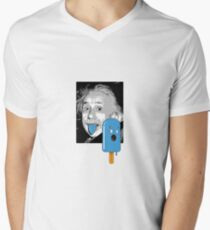 Brain freeze Mens V-Neck T-Shirt