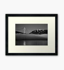 Lion's Gate Bridge Framed Print