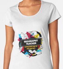 GEOGRAPHY TEACHER Women's Premium T-Shirt