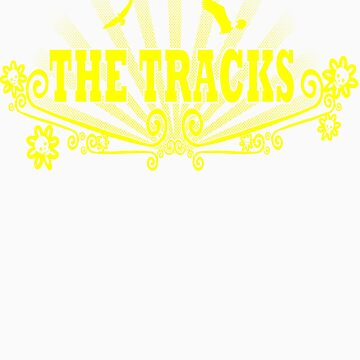 Yellow Tracks T by stevyweevy