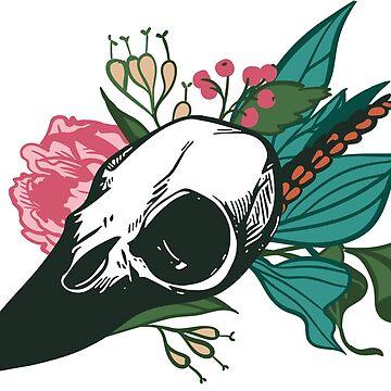 Bird Skull by annarchie
