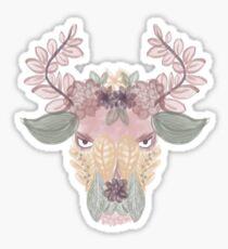 Boho Bull Sticker
