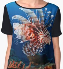 Lionfish Chiffon Top
