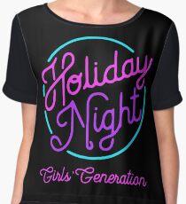 Girls' Generation (SNSD) 'Holiday Night' Women's Chiffon Top