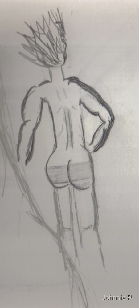 """A MALE BACK """"SIDE by Johnnie R"""