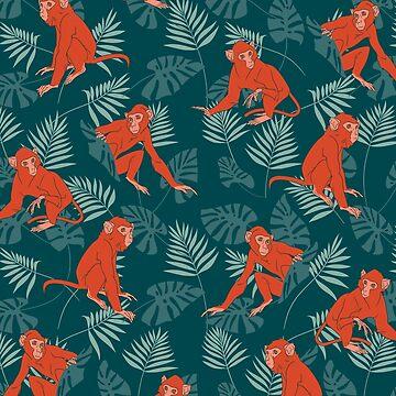 Monkey Forest by ikerpazstudio