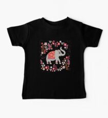 Elephants in the Flower Garden Kids Clothes
