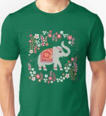 Elephants in the Flower Garden T-Shirt