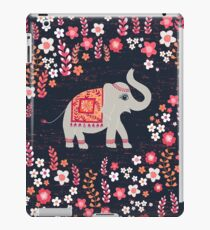 Elephants in the Flower Garden iPad Case/Skin