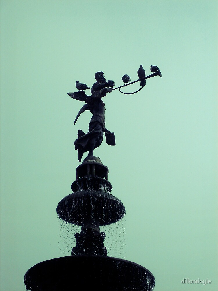 Peruvian Statue Fountain by dillondoyle