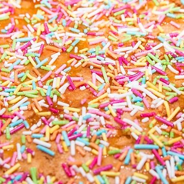 Sugar sprinkle, decoration for cake and bekery, a lot of sprinkles by acasali