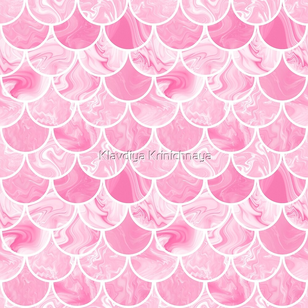 Rose scales by Klavdiya Krinichnaya