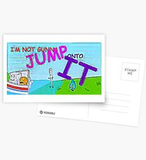 Most Memorable BFDI Quote Ever Postcards