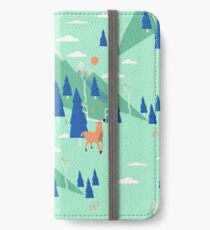 Back to Nature - Pattern Étui portefeuille/coque/skin iPhone